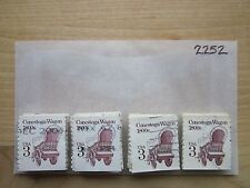 # 2252 x 100 Used US Stamps Lot  Conestoga Wagon Issue  see our other lots