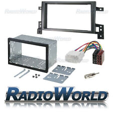 Suzuki Grand VITARA 05 Double DIN Fascia Panel Adapter Plate Cage Fitting Kit