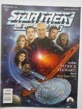 STAR TREK THE OFFICIAL FAN CLUB MAGAZINE #87 (SEPT/OCT 1992) PATRICK STEWART!!!