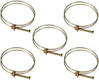 Hose Clamp Tool Set 5 Pack 4 Inch Wire Clamps Dust Collector Collection System