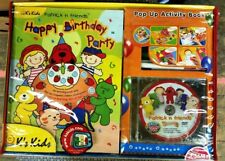 K's Kids Patrick's Party Activity Pop-Up Book, DVD and more - New / Sealed