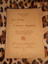 UNE VISITE A L'ARMEE ANGLAISE - Maurice Barrès - Berger-Levrault, 1915