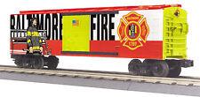 MTH RailKing Trains 30-74993 Baltimore Fire Dept Box Car O Gauge