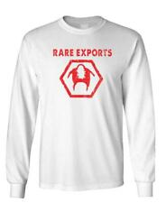 RARE EXPORTS - Unisex Cotton Long Sleeved T-Shirt