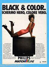 QUATTROR990-PUBBLICITA'/ADVERTISING-1990- PHILIPS MATCH LINE