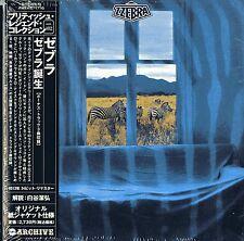 ZZEBRA-S/T-JAPAN MINI LP CD BONUS TRACK Fi83