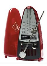 Red Wittner Taktell Piccolo pendulum metronome accurate and portable free post
