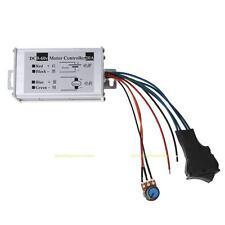 Réversible DC Vitesse PWM Contrôleur 12V24V36V48V60V Moteur Driver Controller