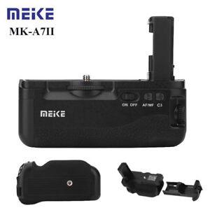 Meike MK-A7II Vertical Battery Grip Holder AF for Sony A7II A7RII Camera RH