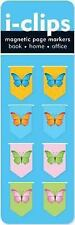 Butterflies I-Clips Magnetic Bookmarks: By Peter Pauper Press