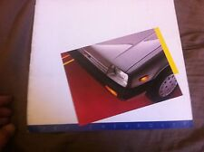 1986 Suzuki Swift Chevrolet Sprint USA Market Brochure Catalog Prospekt