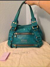 Jimmy Choo Turquoise Maddy Bag