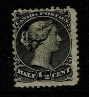 Canada SC# 21 Mint Hinged / Hinge Rem / Gum Toning - S11178