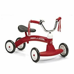 Scoot-About, Toddler Ride On Toy, Ages 1-3, Red
