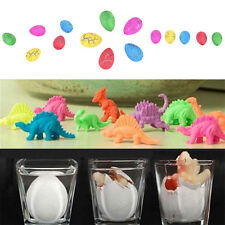 2/5/10x Hatching Dinosaur Eggs Expansion Growing Add Water Magic Cute Kid Toy 3C