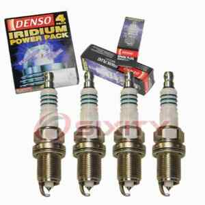 4 pc Denso Iridium Power Spark Plugs for 2008 Saturn Astra 1.8L L4 Ignition zk