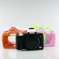 Soft Rubbe Silicone Armor Skin Case Camera Cover Protector Bag For Canon EOS M50