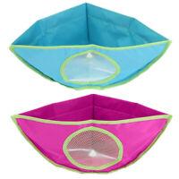 Baby Kids Bath Tub Waterproof Toy Hanging Storage Triangle Bag R1BO