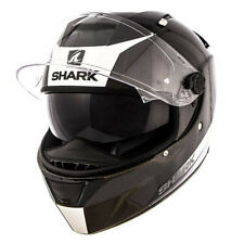 SHARK SPEED R S2 CARBON PELLE decorativa Casco motocicletta Bianco - X GRANDE