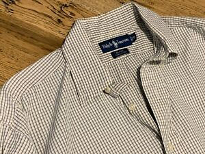 Men's Cotton Ralph Lauren Long Sleeve - pre loved - Size M