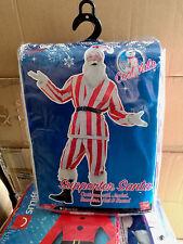 12 x Al por mayor Smiffy's Santa Disfraz Navidad De Rayas Rojo Y Blanco