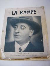 Revue LA RAMPE n°461 de 1927 : Samuel Pokrass
