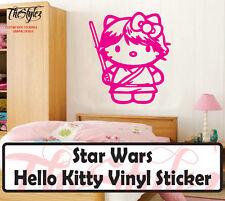 Star Wars Hello Kitty Vinyl Wall Sticker