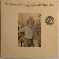 PAUL SIMON STILL CRAZY AFTER ALL THESE YEARS LP CBS UK 1975 NEAR MINT