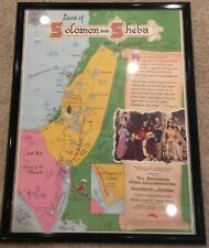 Land Of Solomon & Sheba Movie Poster 1959