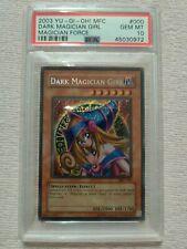 Yu-Gi-Oh Dark Magician Girl MFC Psa 10