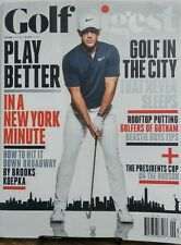 Golf Digest Sept 2017 Brooks Koepka Play Better Rooftop Putting FREE SHIPPING sb