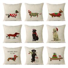 Christmas Pet Pillow Cushions  zipped washable 18 Fun Festive Designs