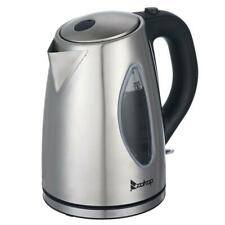 Zokop Boiler Water Coffee Tea Kettle Stainless Steel Interior 1.8L 1500W Silver