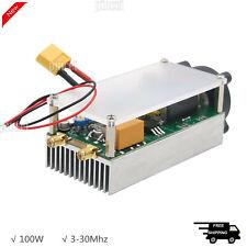Pa100 Hf Amplifier 100w 3 30mhz Shortwave Power Amplifier Rf With Case