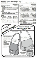 Oregon Trail Messenger Bag Pack Purse #545 Sewing Pattern - Pattern Only (gp545)
