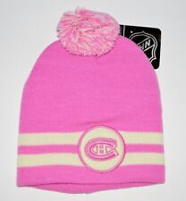 KLOZ MONTREAL CANADIENS BREAST CANCER NHL LICENSED TOQUE - SALE