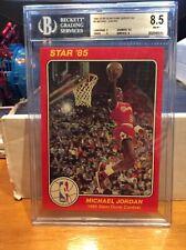 1985 Star Michael Jordan Slam Dunk Supers BGS 8.5 (1986 Fleer) LOWEST ON EBAY!
