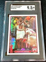2003 Topps Chrome Refractor Scottie Pippen #49 SGC 9.5 MINT +