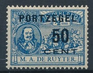 [34408] Netherlands 1907 Good postage due stamp Very Fine MH V:$70