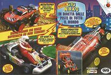 X1632 Gig Nikko - Piste di tutto il mondo - Pubblicità del 1994 - Vintage advert