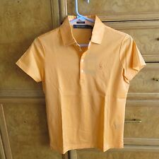 Women's Ralph Lauren polo golf shirt orange size S brand new Nwt $89.50