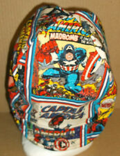 Handmade 100% cotton, Welding Biker,6 1/2 to 8,4 panel hat Captian America