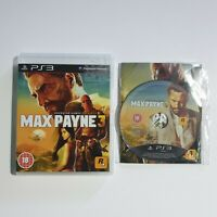 Max Payne 3 - PAL - Sony Playstation 3 / PS3 Game with manual & Free UK Delivery