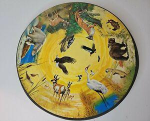 RARE Vintage Springbok Circular Puzzle Last Chance On Earth~500 pc, 350 PZL 6006