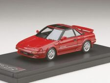 MARK43 PM4377SR 1:43 Toyota MR 2 G- Limited supercharger T Barufu AW11 Tom's red