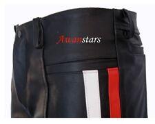 AW-730 Angebot Lederhose mit Streifen leder hose,Pantalon,leather Trousers.40W