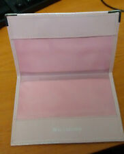 United Kingdom of Great Britain & N.Ireland Leather Passport Holder in baby Pink