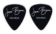 Cream Jack Bruce Signature Black Guitar Pick - Eric Clapton