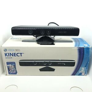 Official Xbox 360 Kinect Sensor Boxed Tested and Working 1414 VGC