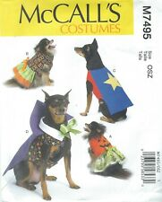 McCall's 7495 Pet Costumes     Sewing Pattern